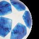ADIDAS FINALE 18 OMB FOTBALOVÝ MÍČ - Modrá, Bílá č.2