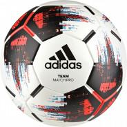 ADIDAS TEAM MATCH BALL  FOTBALOVÝ MÍČ - Bílá, Černá, Červená