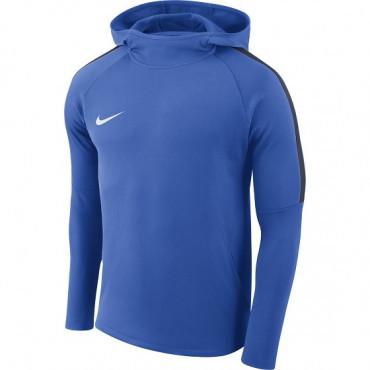 NIKE DRY ACADEMY FOOTBALL HOODIE - Tmavě modrá č.1