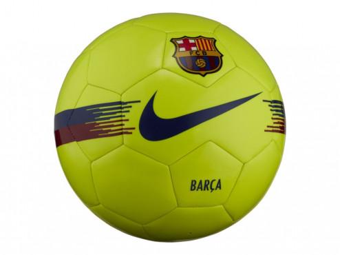 NIKE FC BARCELONA SUPPORTERS FOTBALOVÝ MÍČ - Neon žlutá č.2