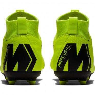 NIKE JR SUPERFLY VI ACADEMY GS FG/MG KOPAČKY DĚTSKÉ - Neon žlutá, Černá č.6