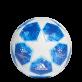 ADIDAS FINALE 18 TOP TRAINING FOTBALOVÝ MÍČ - Modrá, Bílá č.5