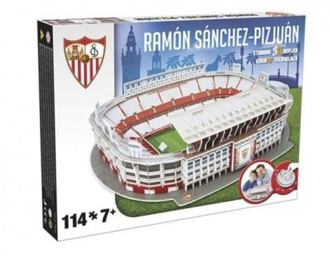 3D PUZZLE FOTBALOVÝ STADION - SANCHEZ PIZJUAN (SEVILLA) č.2