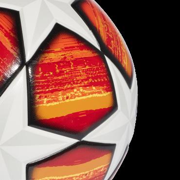 ADIDAS FINALE MADRID 2019 TOP TRAINING FOTBALOVÝ MÍČ - Oranžová, Bílá č.2