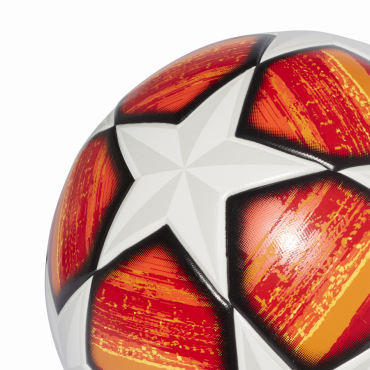ADIDAS FINALE MADRID 2019 TOP TRAINING FOTBALOVÝ MÍČ - Oranžová, Bílá č.4