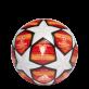 ADIDAS FINALE MADRID 2019 TOP TRAINING FOTBALOVÝ MÍČ - Oranžová, Bílá č.1